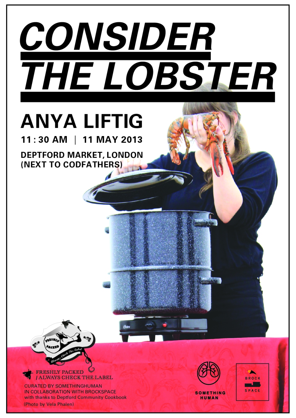FRESHLY PACKED: CONSIDER THE LOBSTER